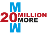 20 Million More Logo